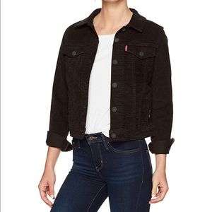 Levi's Denim Jacket (Ultra Soft Black)